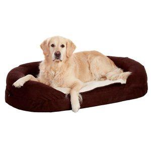 karlie_orthobed_oval_ruskea-koiranpeti
